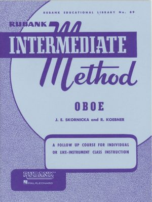 Rubank: Oboe Method (Intermediate)