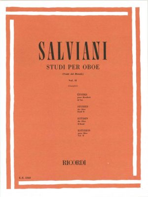 Salviani: Oboe Etudes, Vol. 2