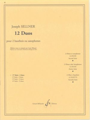 Sellner: 12 Oboe Duos