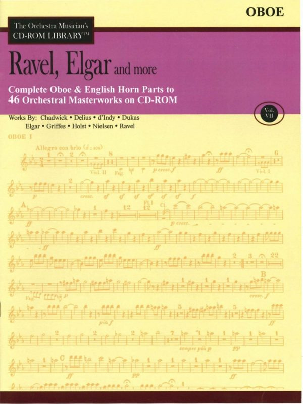 CD-Rom Oboe: Volume 7