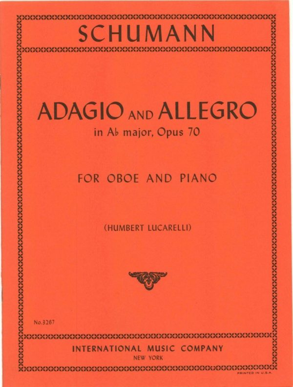 Schumann: Adagio and Allegro, op. 70