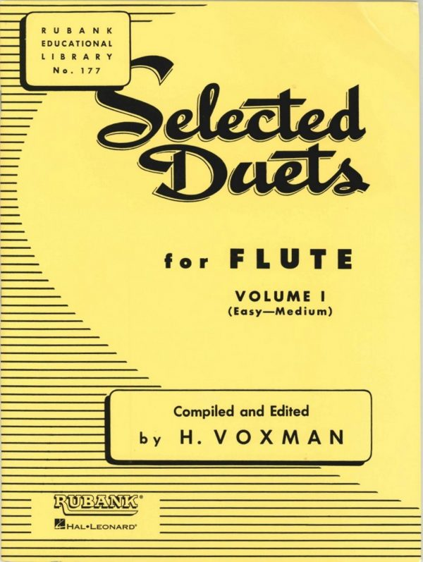 Rubank Selected Duets for 2 Flutes (Oboes) Vol.1