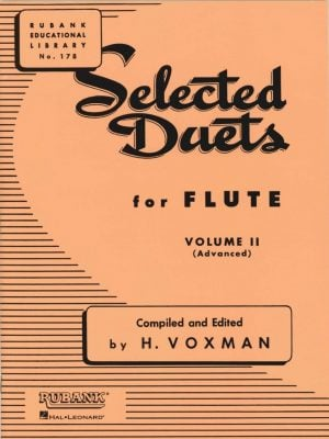 Rubank Selected Duets for 2 Flutes (Oboes) Vol.2