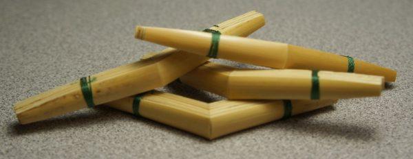 Medir shaped oboe cane
