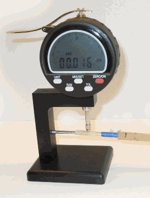 Digital Micrometer for Oboe