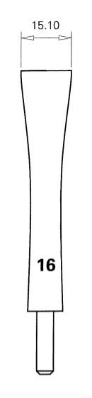 Rieger Custom Order Bassoon Shaper Tips