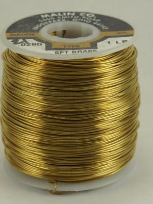 1lb 22 gauge Brass Wire