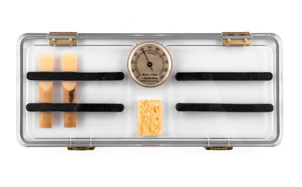 Reeds 'n Stuff Hyrgometer Reed case for 12 clarinet reeds