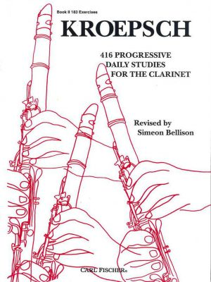 Kroepsch 416 Daily Studies for the Clarinet. Book II
