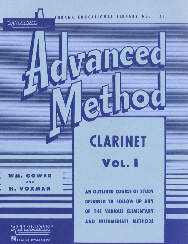 Rubank Advanced Method for Clarinet, Vol. 1