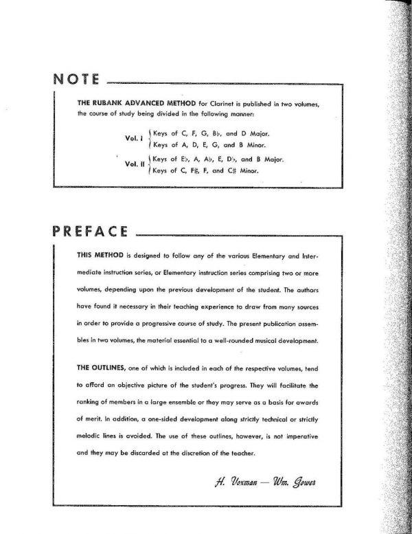 Rubank Advanced Method for Clarinet, Vol. 2