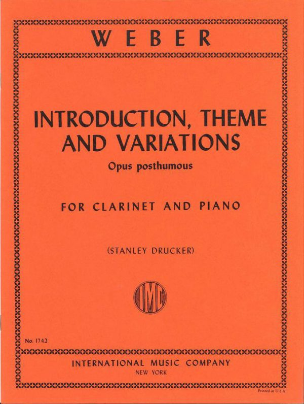 Weber: Introduction, Theme and Variations