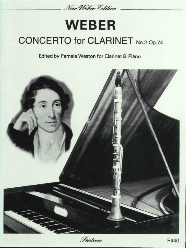 Weber: Concerto for Clarinet No.2 Op. 74 (Eb Major) Weston