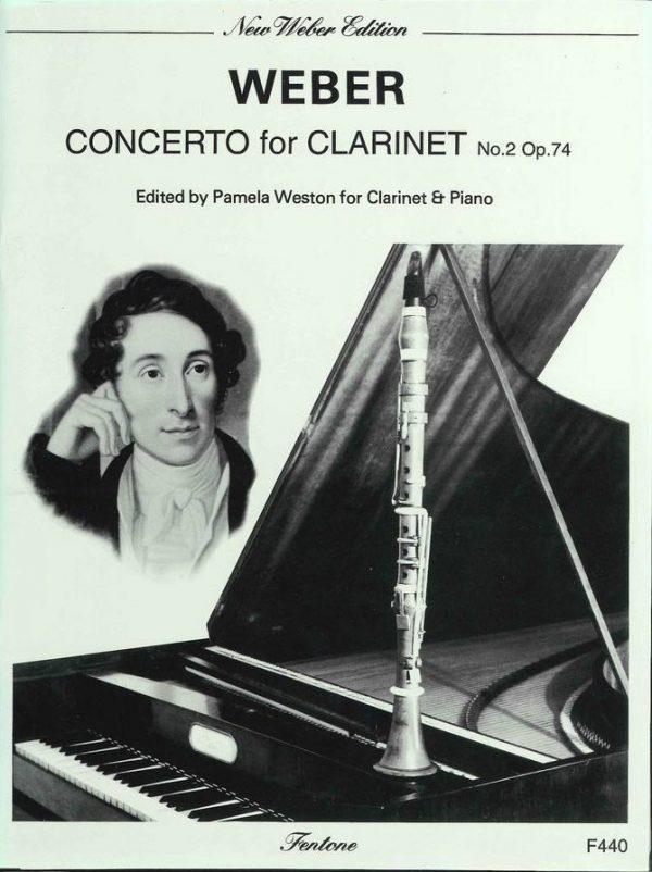 Weber: Concerto for Clarinet No.2 Op. 74 (Eb Major) Weston