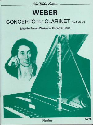 Weber: Concerto for Clarinet No. 1 Op. 73 (F minor) Weston
