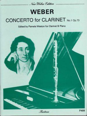 Weber: Concerto for Clarinet No. 1 Op. 73 (F minor) Weston