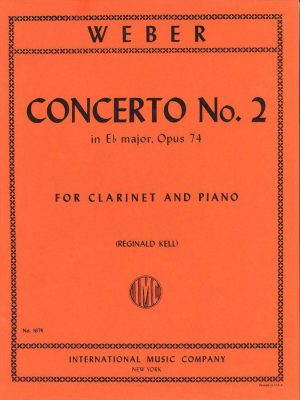 Weber: Concerto for Clarinet No 2. (Eb major) Op. 74 Kell