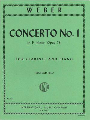Weber Concerto for Clarinet No. 1 (F minor), Op. 73 - Kell