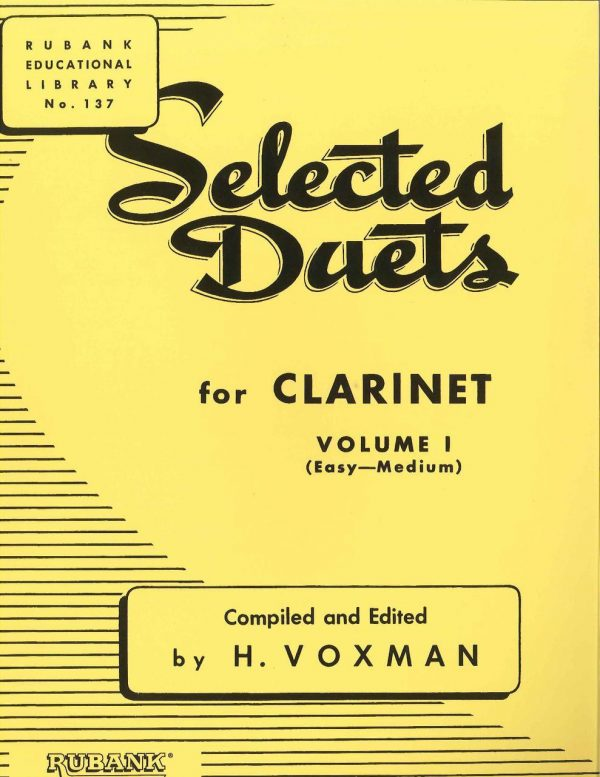 Voxman Clarinet Selected Duets, Vol. 1