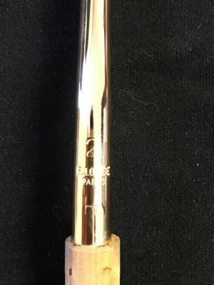 Used Gold-plated Loree 2H