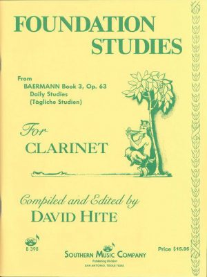 Baermann Foundation Studies,  From Bk. 3 Op. 63
