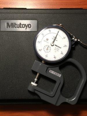 Hand-Held Mitutoyo Micrometer