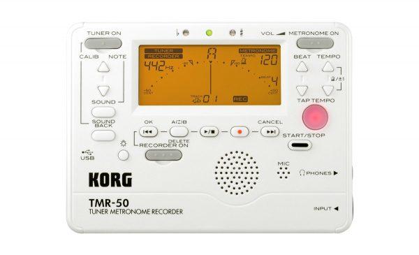 TM-50 Tuner & Metronome - Pearl White