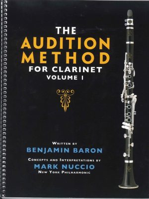 The Audition Method for Clarinet Vol. 1