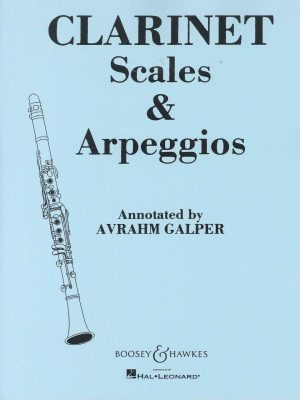 Clarinet Scales and Arpeggios