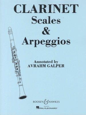 Clarinet Scales and Arpeggios