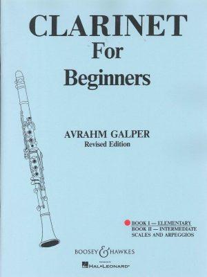Clarinet for Beginners Bk. I - Elementary