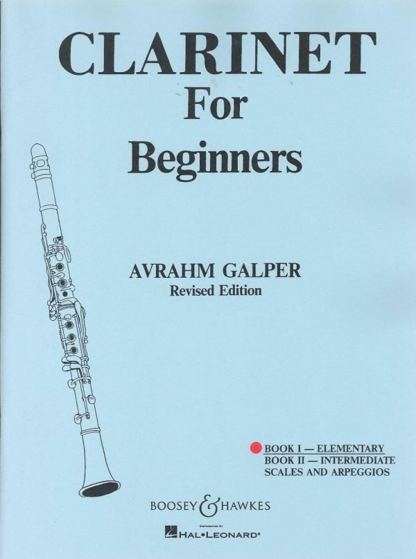 Clarinet for Beginners Bk. I - Elementary