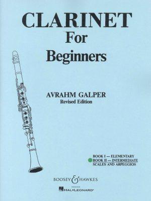 Clarinet for Beginners Bk. II - Intermediate