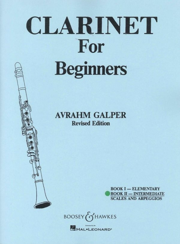 Clarinet for Beginners Bk. II - Intermediate