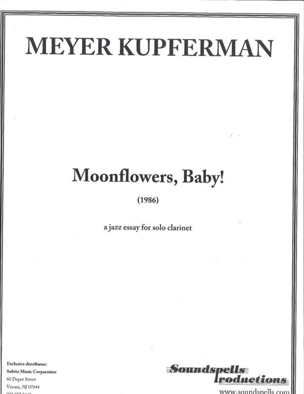 Moonflowers, Baby!