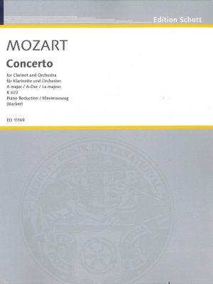 Mozart Clarinet Concerto in A, Schott Ed.